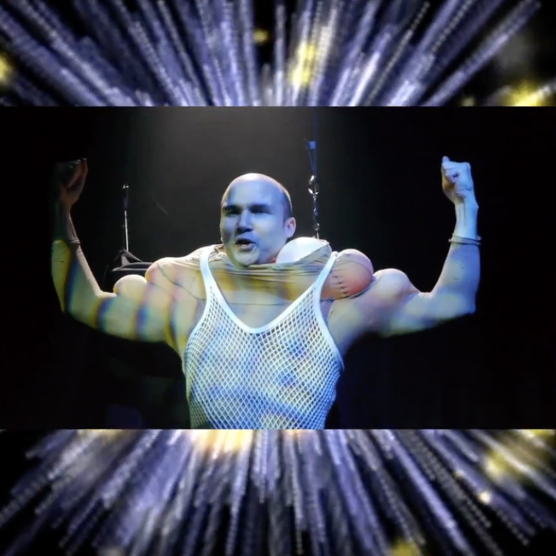20th anniversary title screenshot from video