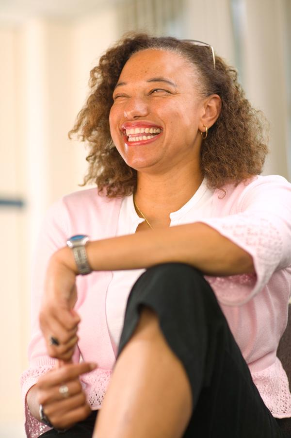 Portrait photo of Maria smiling