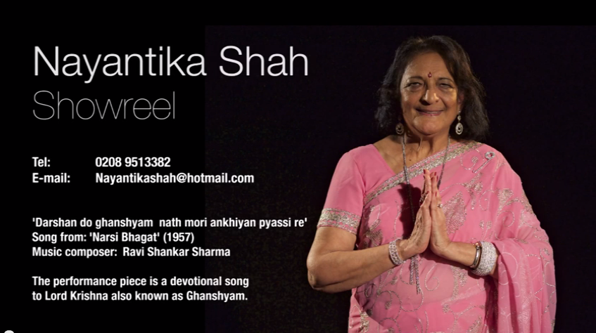 Nayantika Shah smiling